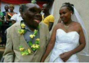 Ugliest Man' in Uganda Welcome His 8th Child Into The World. With His Second Wife
