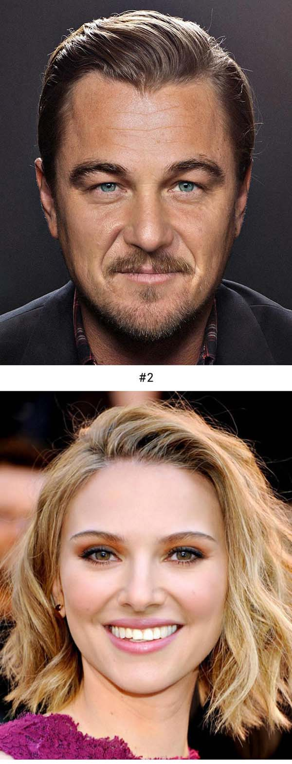 Artist Creates Incredible Celebrity Faces Mashups. Can You Guess Who They Are (By Gesichtermix)