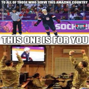 to all of those who serve this amazing country