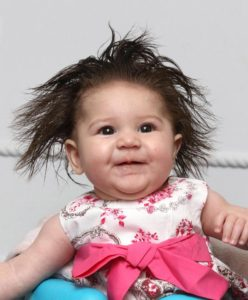 LITTLE OFF THE TOT Tots with lots and lots of locks... Sun readers' babies who have been blessed with more than their fair share of hair