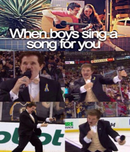 when boys sing  a song for you