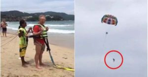 Beachgoers Witness Australian Businessman Plunging to His Death while Parasailing in Thailand