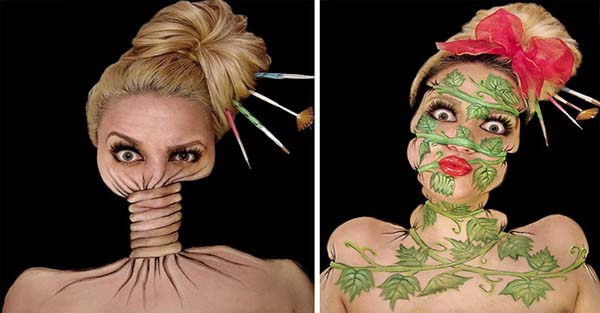 I Spend Up To 12 Hours To Create These Twisted Illusions On My Face
