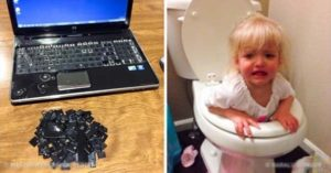27 Photos Proving That a Kid Left Alone Is a Very Destructive Force