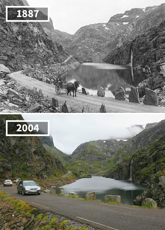 20 Before & After Pics Showing How The World Has Changed Over Time By Re.Photos
