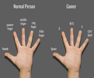 normal vs gamer