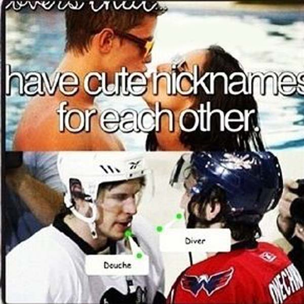 have cute nickname for each