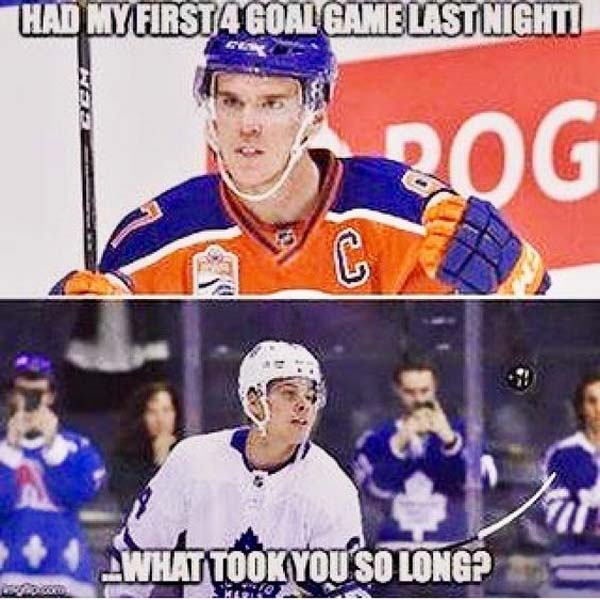 had my first 4goal game last night