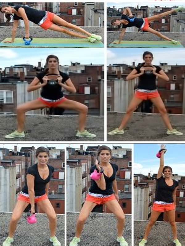15 minutos Kettle-Bell AM rap entrenamiento por BindyB