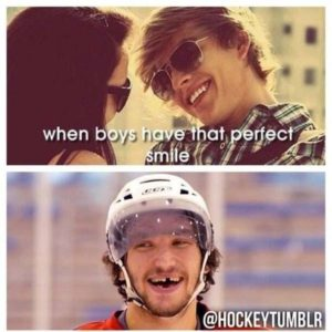 when  boy have that perfet smile
