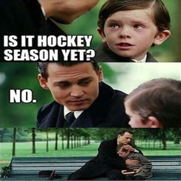 is it hockey  season
